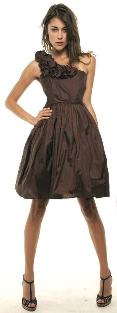 Full skirt, ruffle, party frock, a-line, tulle