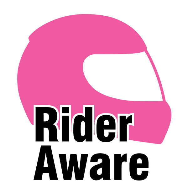 Rider Aware Sticker - Pink