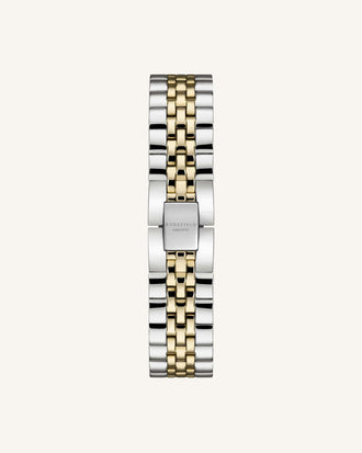 Silber - Gold Duo Armband