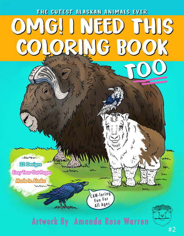 OMG! I Need This Coloring Book Too! #2
