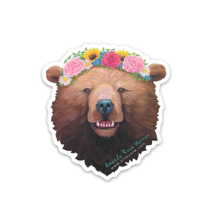 Rosie Bear Mini Sticker