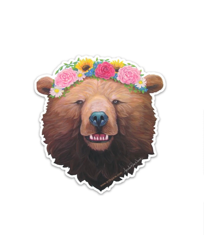 Rosie Bear Full Sticker