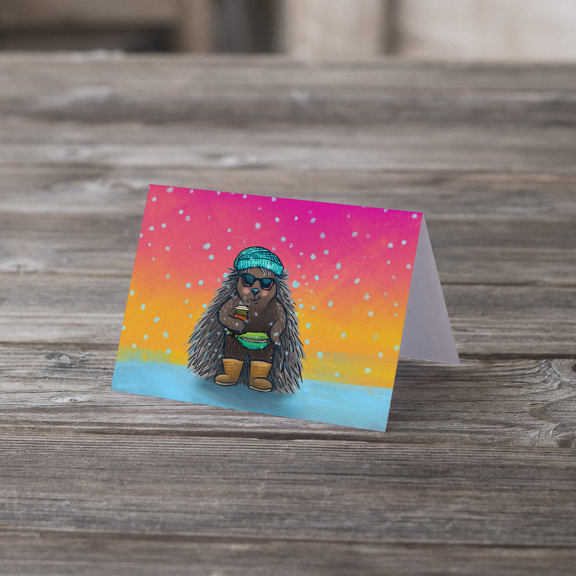 Basic Porcupine Greeting Card