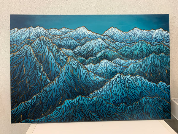 Evening Peaks- Siku Series Original