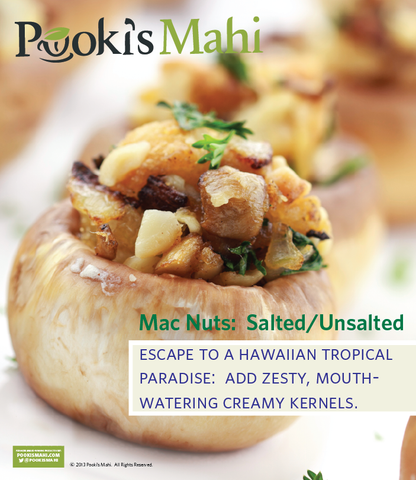 Pooki's Mahi Salted & Unsalted Macadamia Nut Collection
