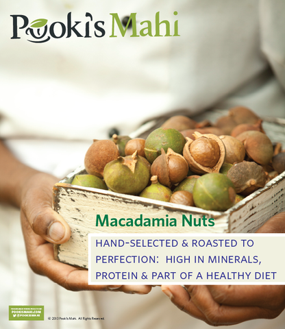 Pooki's Mahi Macadamia Nut Collection