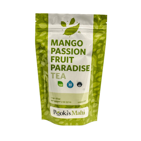 Pooki's Mahi Award-Winning Mango Passion Fruit Tea, 2oz.