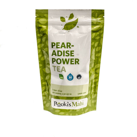 Pooki's Mahi Award-Winning Pear-adise Power Tea, 2oz.