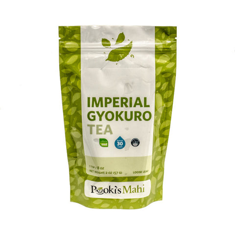 Pooki's Mahi Award-Winning Gyokuro Tea, 2oz.