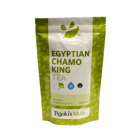Pooki's Mahi Egyptian ChamoKing Tea, 2oz.