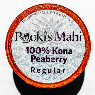 Bulk PEABERRY 100% Kona Coffee Wholesale Pods for Keurig