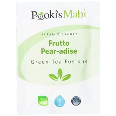 Pooki's Mahi Award-Winning Frutto Pear-adise Pyramid Sachets, 20-count