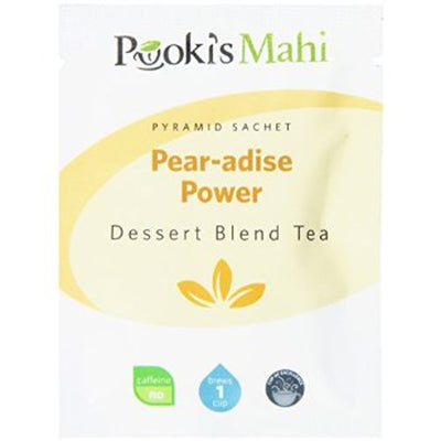 Pooki's Mahi Award-Winning Pear-adise Power Pyramid Sachets, 20-count