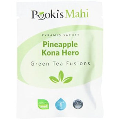 Pooki's Mahi Award-Winning Pineapple Kona Hero Pyramid Sachets, 20-count