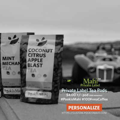 Matcha Matcha Man® Peach Oolong Private Label Tea Pods