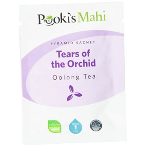 Pooki's Mahi Award-Winning Tears of the Orchid Pyramid Sachets, 20-count