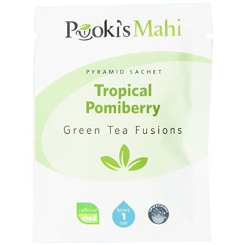 Pooki's Mahi Award-Winning Tropical Pomiberry Sachets, 20-count