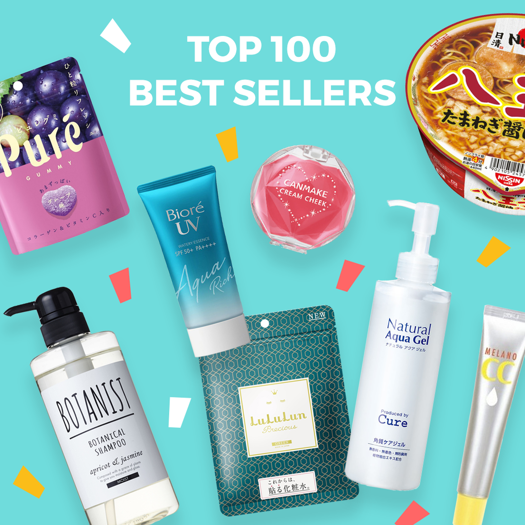 Best Selling Japanese Skincare, Cosmetics and Snacks