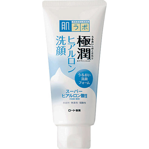 Hada Labo Gokujyun Hyaluronic Acid Foaming Cleanser
