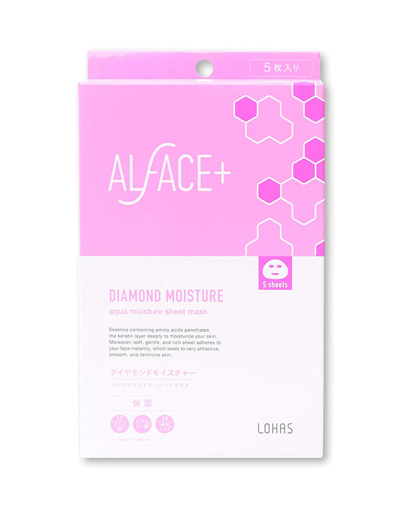Alface Diamond Moist Face Mask 5 Sheets