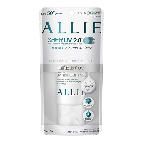 Allie Extra UV Highlight Gel SPF50+/PA++++