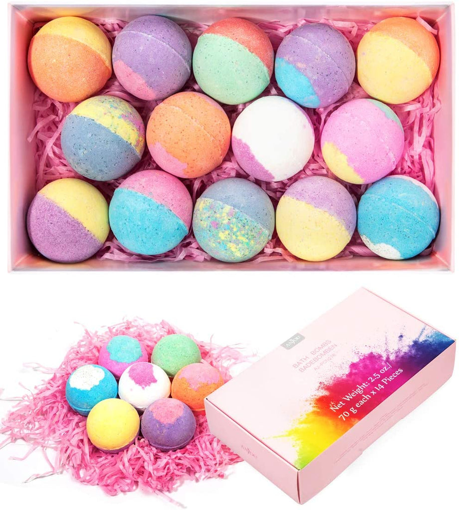 Anjou Bath Bombs 14 Pieces Gift Set