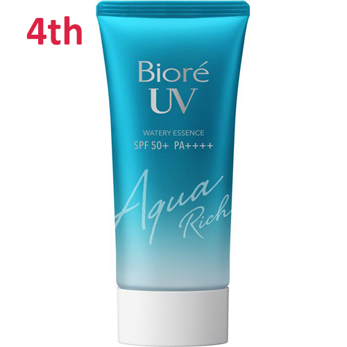 No.4 Biore UV Aqua Rich Watery Essence SPF50+/PA++++