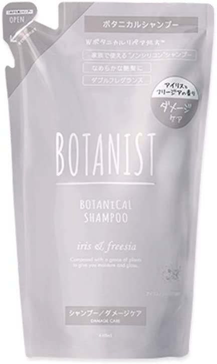 Botanist Botanical Damage Care Shampoo Refill Pouch 440 ml