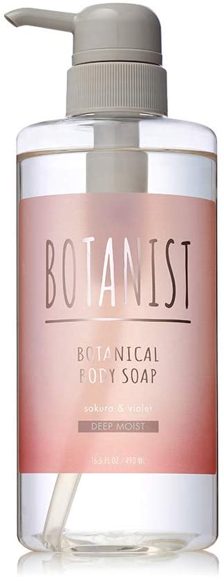 Botanist Botanical Spring Body Soap Deep Moist 490 ml