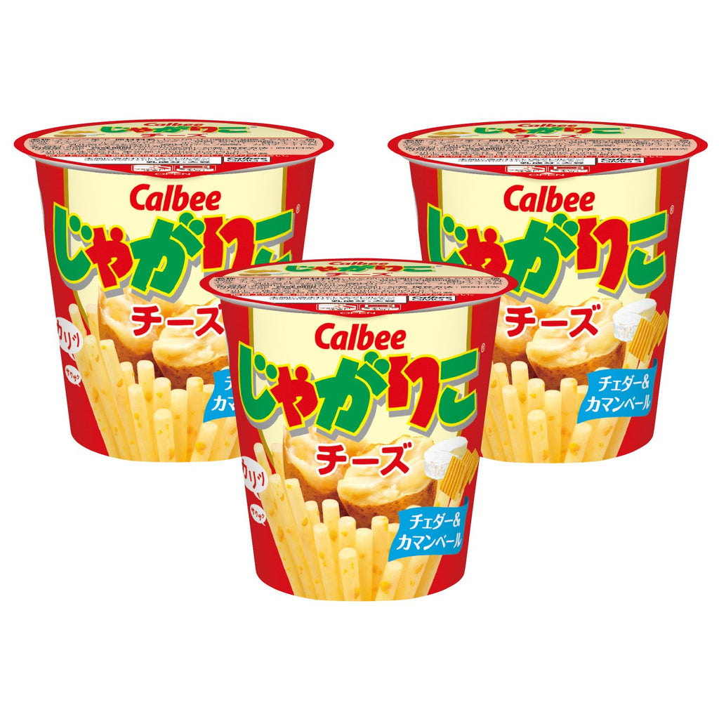 Calbee Jagariko Cheese 3 Pack