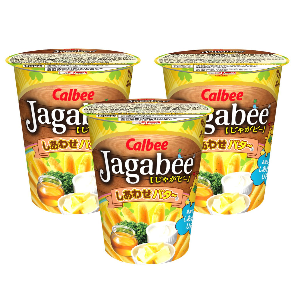 Calbee Jagabee Happiness Butter 3 Pack