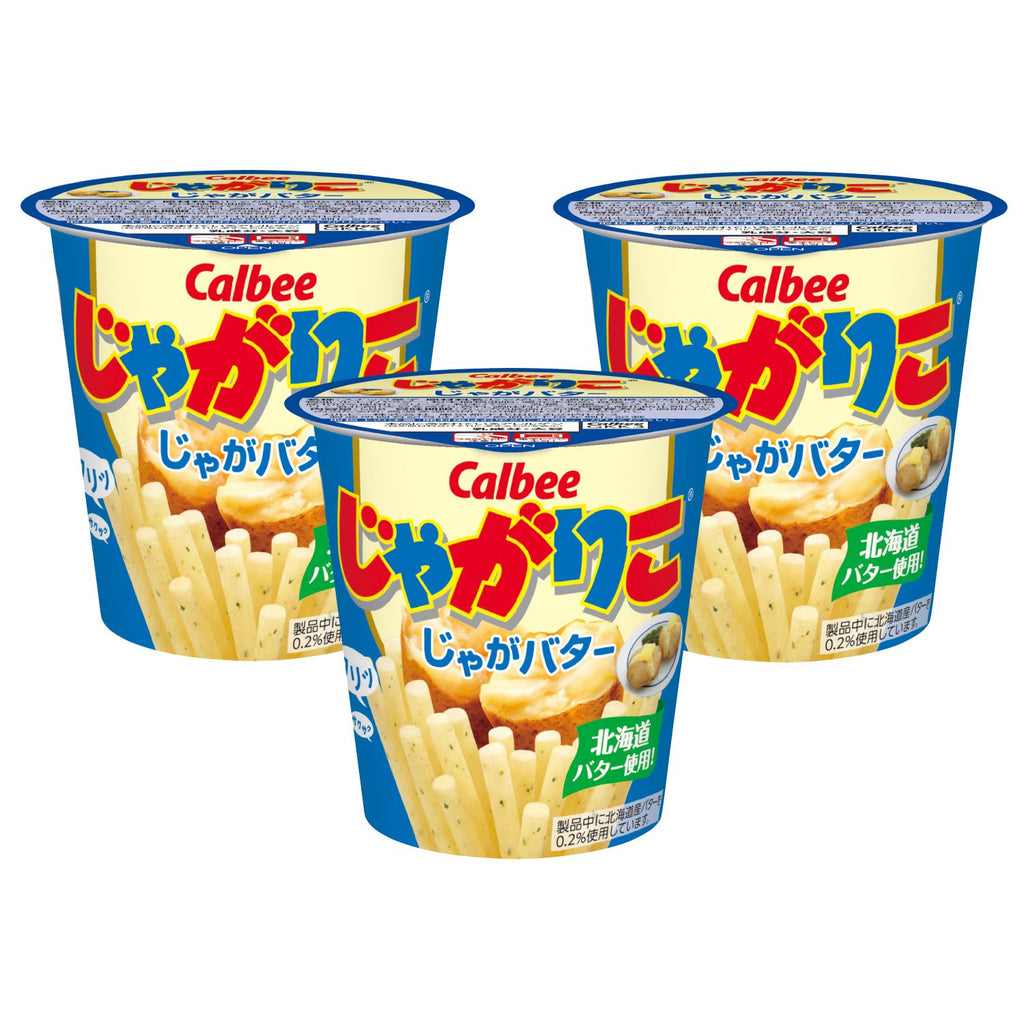 Calbee Jagariko Potato Butter 3 Pack