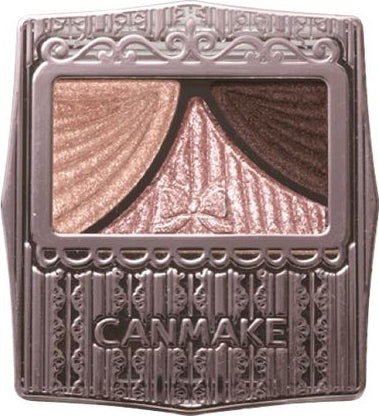 Canmake Juicy Pure Eye Shadow Classic Pink Brown