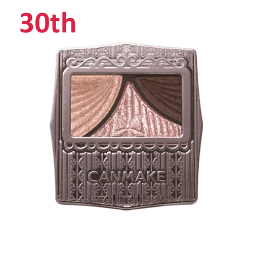 No.30 Canmake Juicy Pure Eye Shadow Classic Pink Brown