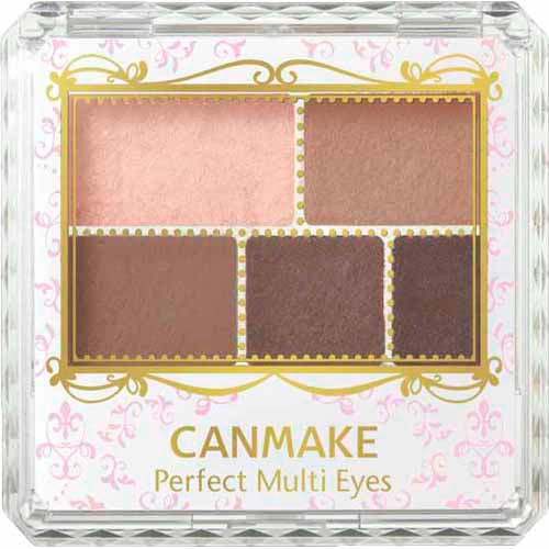 Canmake Perfect Multi Eye Shadow Rose Chocola