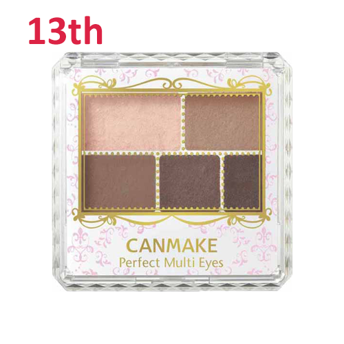 No.13 Canmake Perfect Multi Eye Shadow Rose Chocola