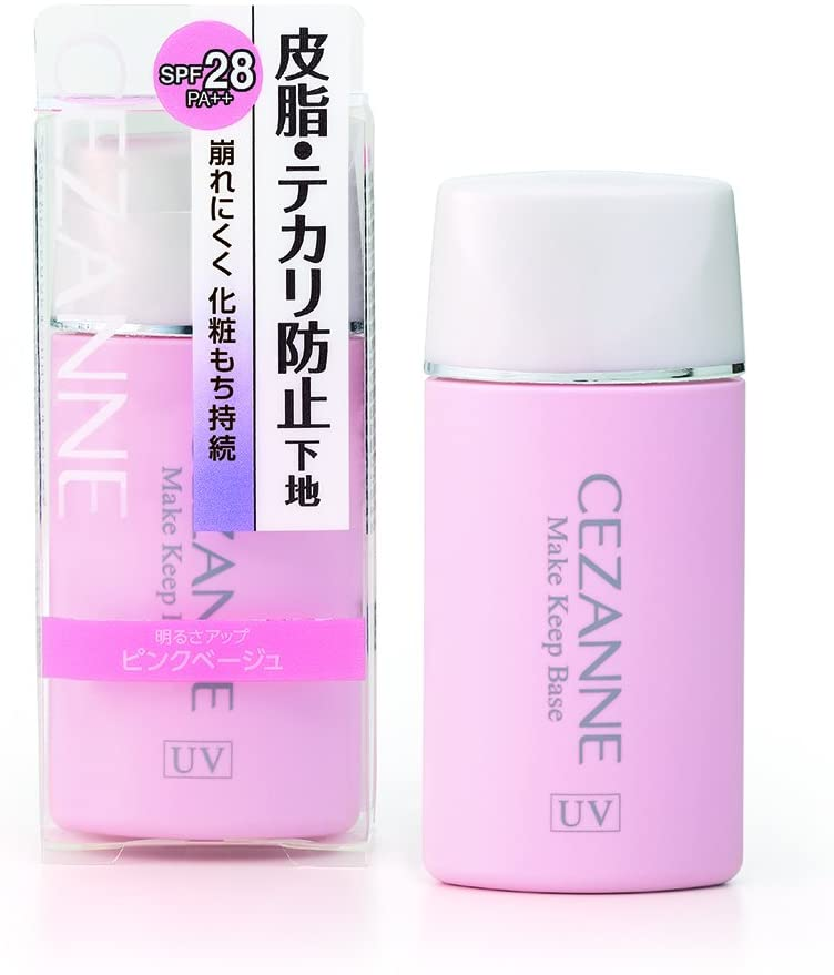 Cezanne Skin Oil Shiny Prevention Base Pink Beige 30ml Shiny Hard to Collapse Makeup Base Single Item