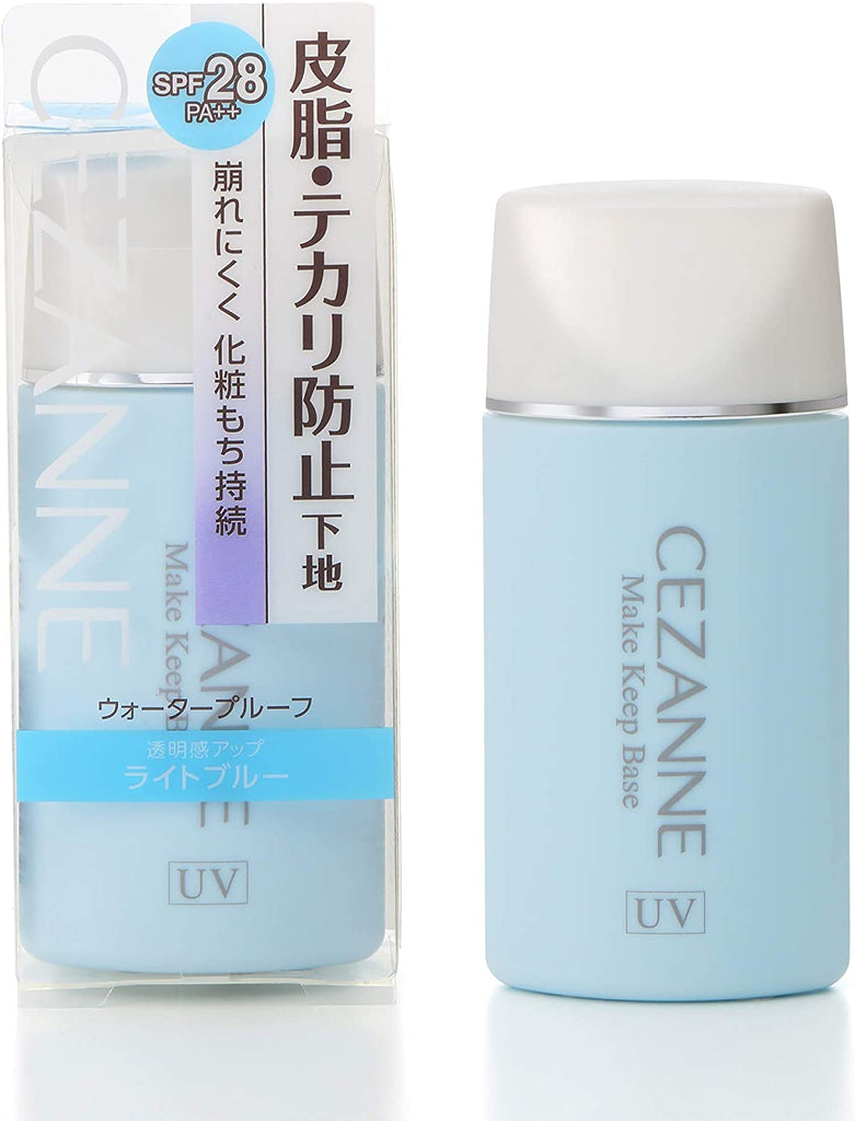 Cezanne Anti-Sebum Foundation Light Blue 30 ml  Anti-Deflation Cosmetics Base Single Item