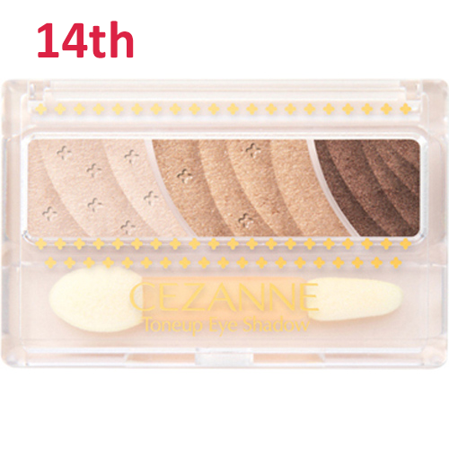 No.14 Cezanne Toneup Eye Shadow Natural Brown