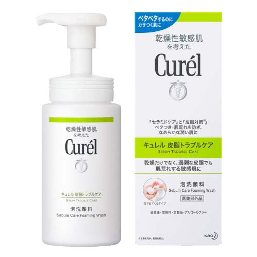 Curel Sebum Trouble Care Foaming Wash