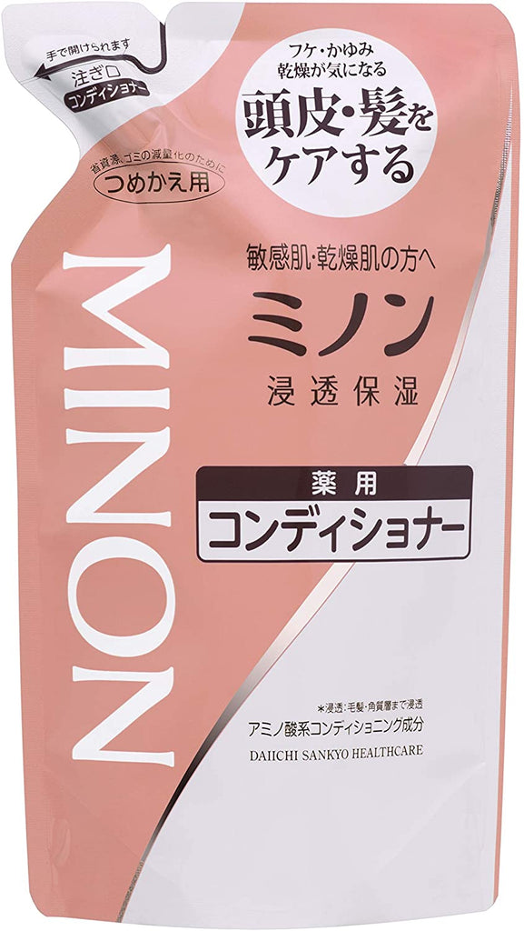 Daiichi Sankyo Health Care Minon Medicated Conditioner Refill 380 ml