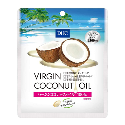DHC Virgin Coconut Oil Supplement 30-Day Supply