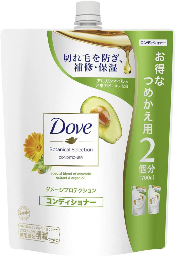 Dove Botanical Selection Damage Protection Conditioner 700 g
