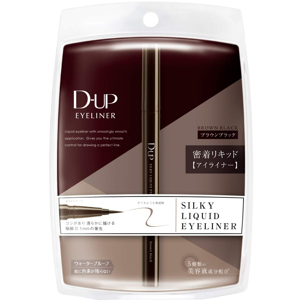 D-UP Silky Liquid Eyeliner Waterproof