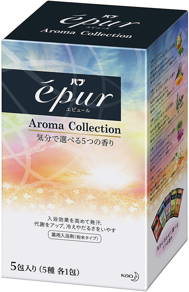 Epur Assorted 5 Types Aroma Collection (50 g) x 5 Packs