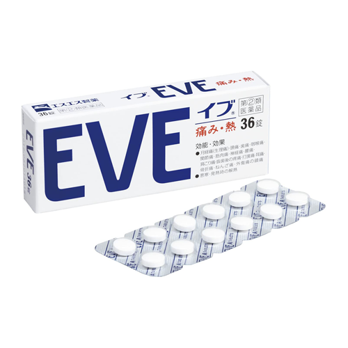 [2nd-Class OTC Drug] EVE Headache & Pain Relief 36 Tablets