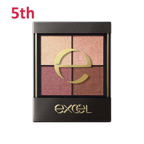 No.5 Excel Real Clothes Eye Shadow