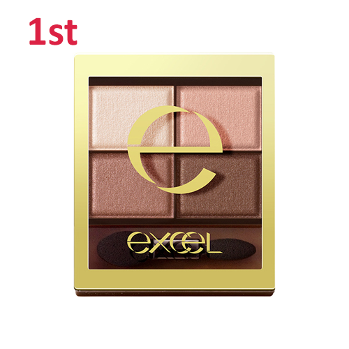 No.1 Excel Skinny Rich Eye Shadow Sensual Brown