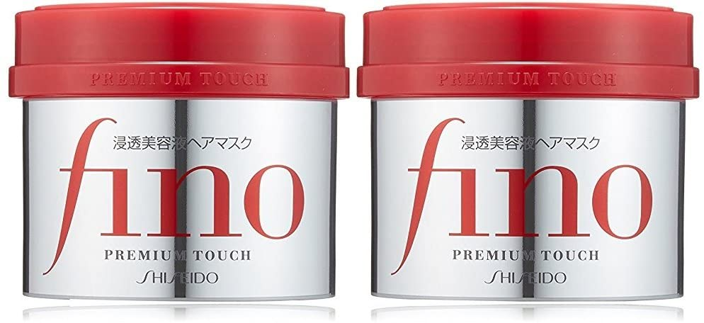 Fino Premium Touch Penetrating Serum Hair Mask 2 Packs 230 g each