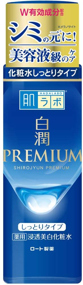 Hada Labo Shirojun Premium Medicated Penetrating Whitening Lotion Moist Type (Quasi-drug) 170 ml